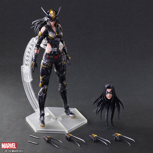 Marvel Square Enix Play Arts Kai X-Men X-23 Action Figure Pre-Order