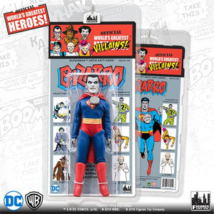 DC Retro Mego Kresge Style Bizarro Series 4 Action Figure - Action Figure Warehouse Australia | Comic Collectables