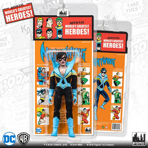 DC Retro Mego Kresge Style Nightwing Series 4 Action Figure - Action Figure Warehouse Australia | Comic Collectables