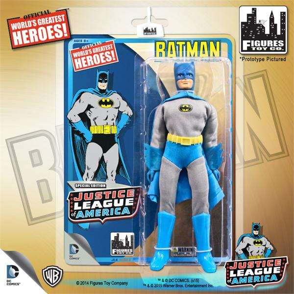 DC Retro Mego Kresge Style Justice League Batman Action Figure - Action Figure Warehouse Australia | Comic Collectables