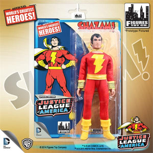 DC Retro Mego Kresge Style Justice League Shazam Action Figure - Action Figure Warehouse Australia | Comic Collectables