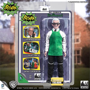 DC Retro Mego Kresge Style Batman TV Series Alfred Pennyworth Green Apron Action Figure - Action Figure Warehouse Australia | Comic Collectables