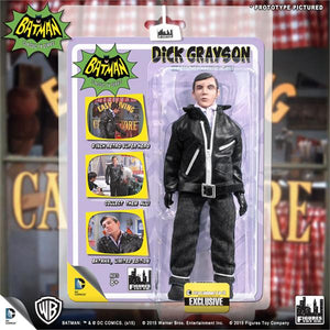 DC Retro Mego Kresge Style Batman TV Series Dick Grayson Undercover Jacket Action Figure - Action Figure Warehouse Australia | Comic Collectables