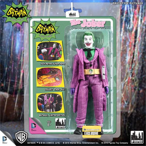 DC Retro Mego Kresge Style Batman TV Series The Joker w/ Utility Belt Action Figure - Action Figure Warehouse Australia | Comic Collectables