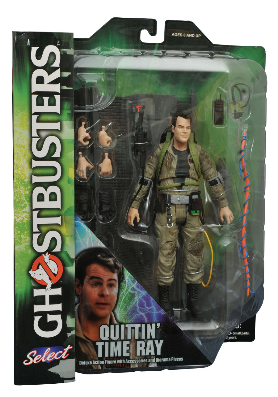 Ghostbusters Diamond Select Quittin Time Ray Series 3 Action Figure