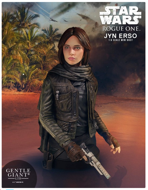 Star Wars Gentle Giant Mini-Bust Jyn Erso