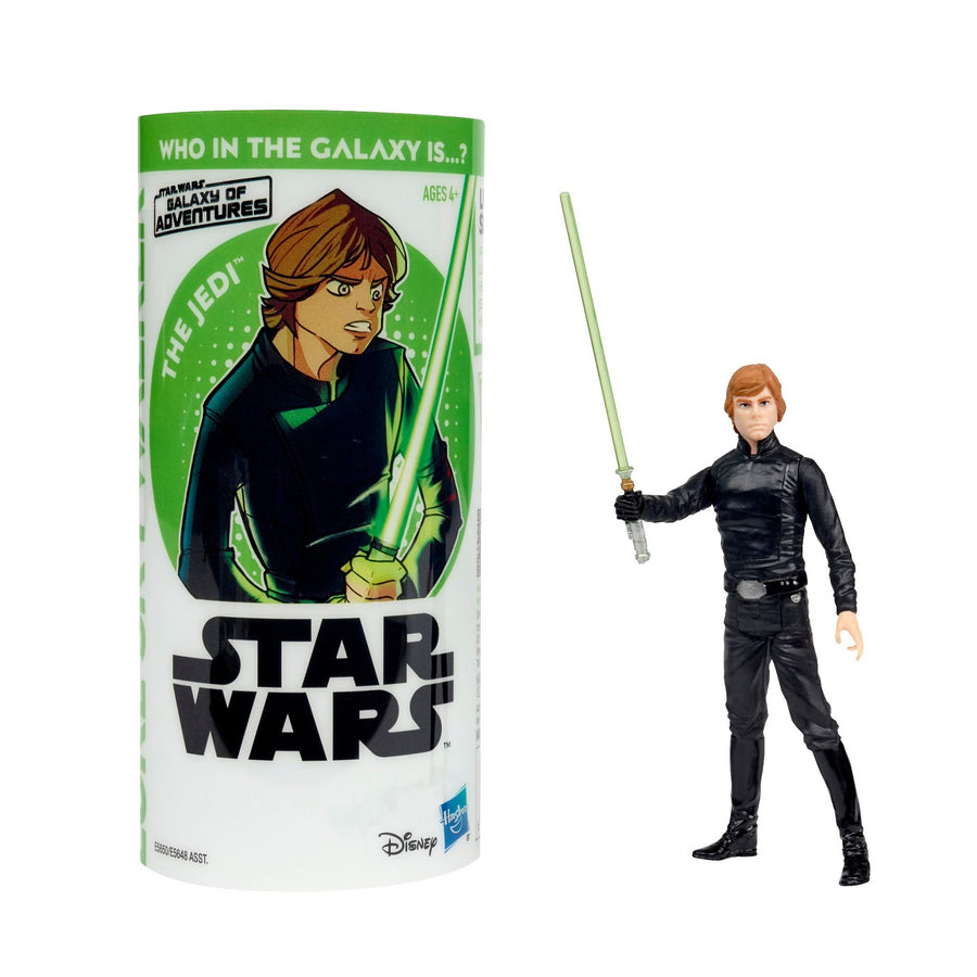 Star Wars Galaxy Of Adventure Series Luke Skywalker 3.75 Inch Action Figure Pre-Order