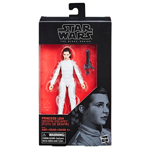 Star Wars Black Series Exclusive Princess Leia Bespin Escape Action Figure