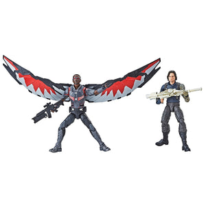 Marvel Legends Exclusive Winter Soldier & Falcon Action Figure 2 Pack