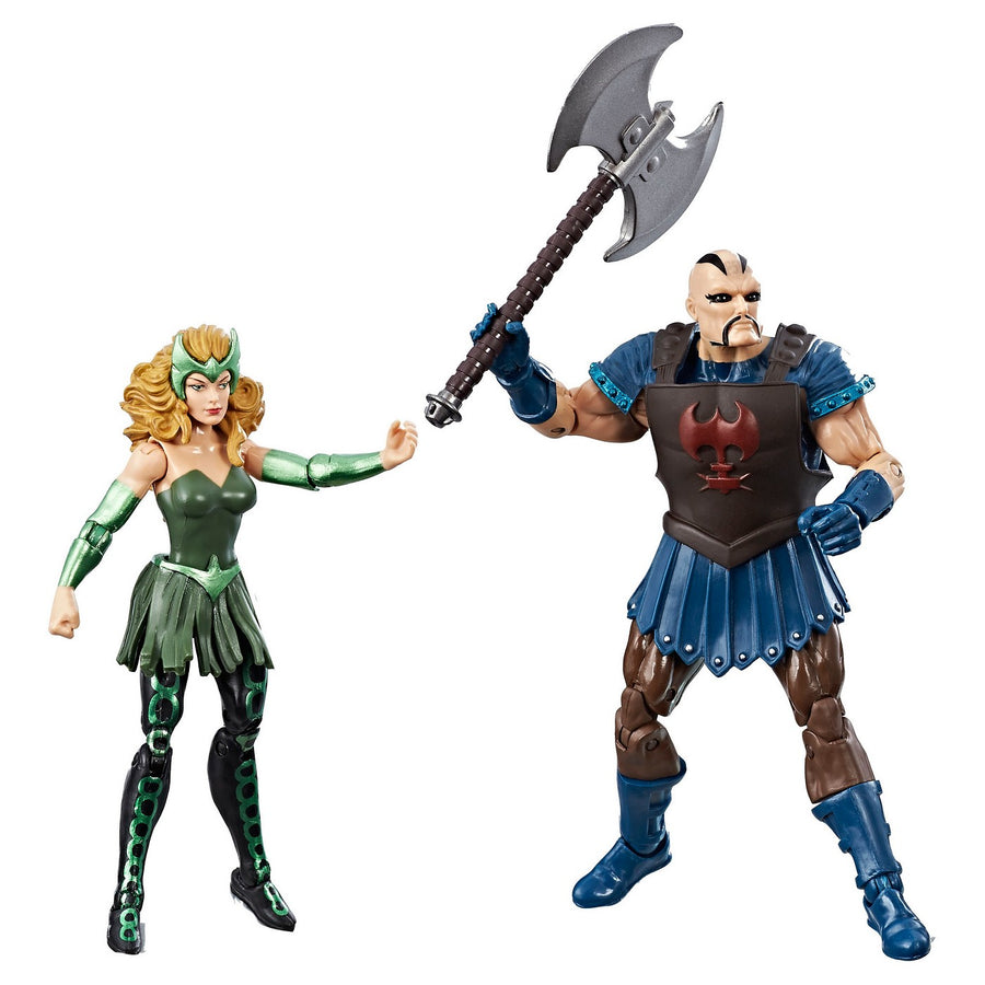 Damaged Packaging Marvel Legends Infinite Ragnarok Executioner & Enchantress Action Figure 2-Pack