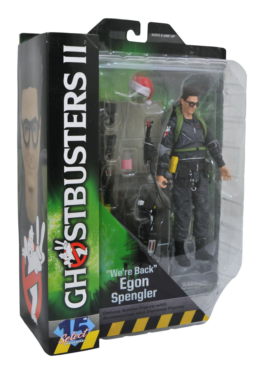 Ghostbusters 2 Diamond Select Egon Spengler Series 7 Action Figure