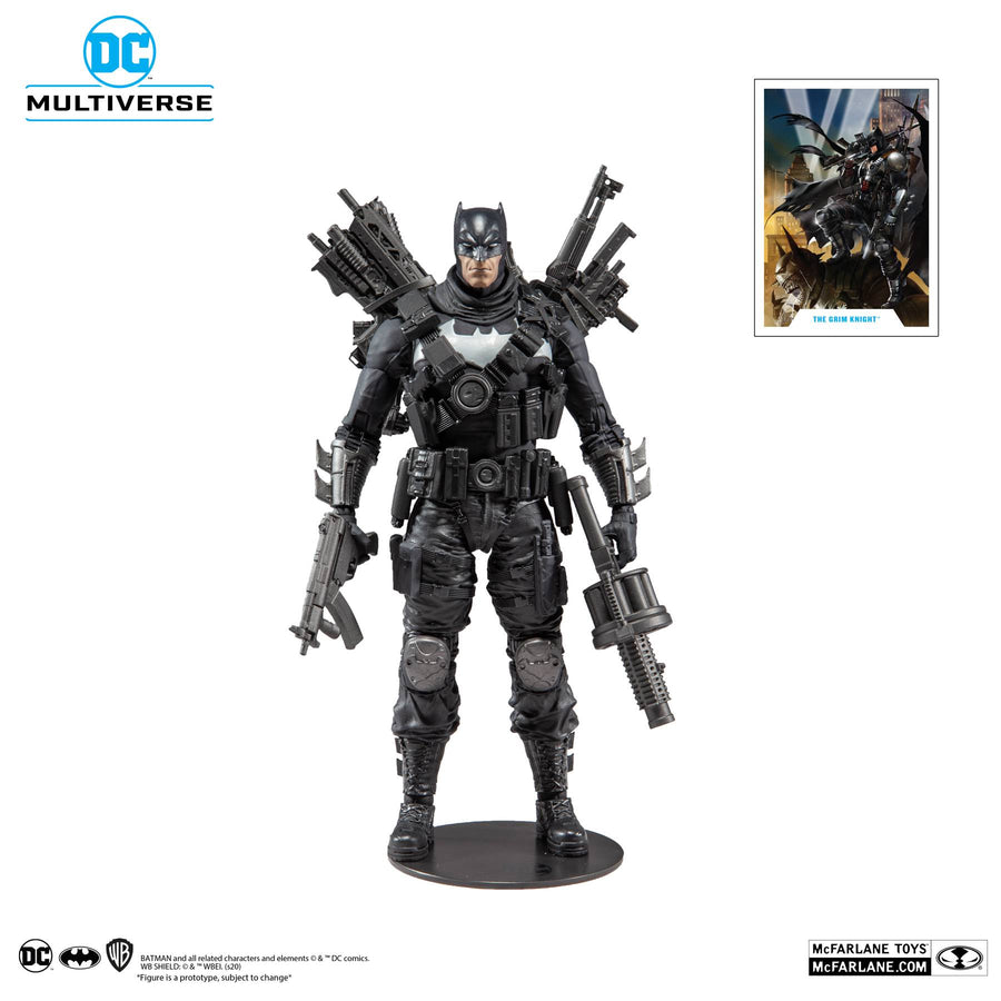 DC Multiverse McFarlane Series Dark Knights Metal Batman The Grim Knight Action Figure Pre-Order