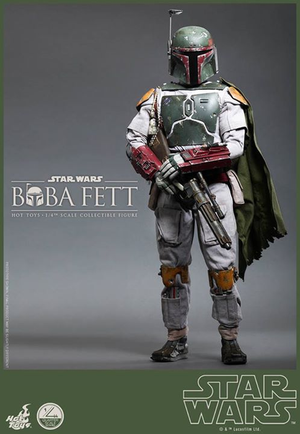 Star Wars Hot Toys Boba Fett 1:4 Scale Action Figure HOTQS003