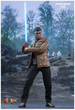 Star Wars Hot Toys Force Awakens Finn 1:6 Scale Action Figure MMS345