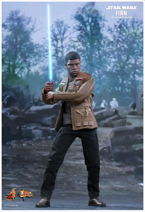 Star Wars Hot Toys Force Awakens Finn 1:6 Scale Action Figure HOTMMS345