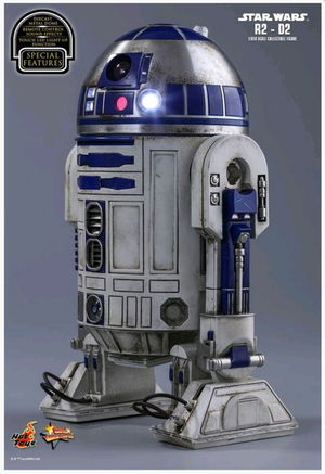 Star Wars Hot Toys Force Awakens R2-D2 1:6 Scale Action Figure HOTMMS408