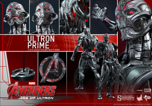 Marvel Hot Toys Age Of Ultron Ultron Prime 1:6 Scale Action Figure HOTMMS284
