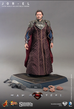 DC Hot Toys Superman Man Of Steel Jor-El 1:6 Scale Action Figure HOTMMS201 - Action Figure Warehouse Australia | Comic Collectables