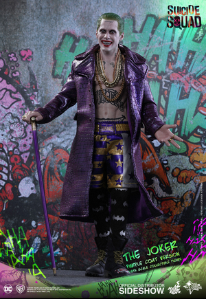 DC Hot Toys Suicide Squad Joker Purple Coat 1:6 Scale Action Figure HOTMMS382 - Action Figure Warehouse Australia | Comic Collectables