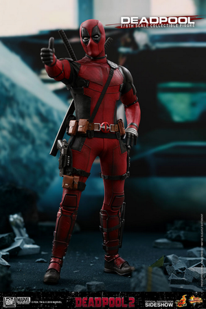 Marvel Hot Toys Deadpool 2 Deadpool 1:6 Scale Action Figure HOTMMS490