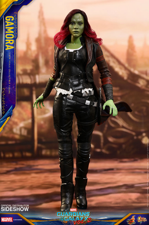 Marvel Hot Toys GOTG Gamora 1:6 Scale Action Figure HOTMMS483