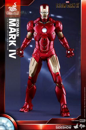 Marvel Hot Toys Iron Man 2 Mark IV 1:6 Scale Action Figure HOTMMS338