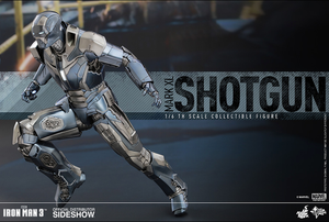 Marvel Hot Toys Iron Man 3 Mark XL Shotgun 1:6 Scale Action Figure HOTMMS309