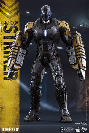 Marvel Hot Toys Iron Man 3 Mark XXV Striker 1:6 Scale Action Figure HOTMMS277