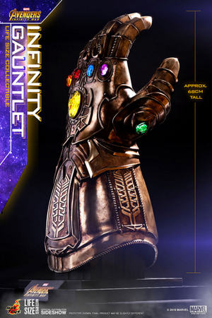 Marvel Hot Toys Infinity Gauntlet Prop Replica HOTLMS006 Pre-Order