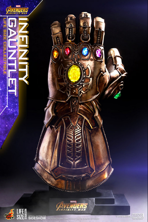 Marvel Hot Toys Infinity Gauntlet Prop Replica HOTLMS006