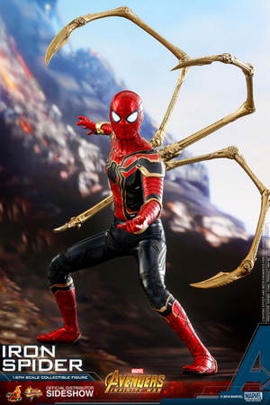 Marvel Hot Toys Infinity War Spider-Man Iron Spider 1:6 Scale Action Figure HOTMMS482 Pre-Order