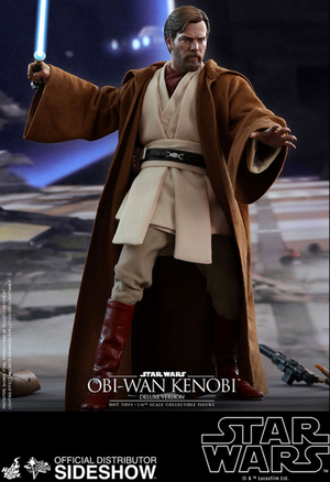 Star Wars Hot Toys Revenge of the Sith Deluxe Obi-Wan Kenobi 1:6 Scale Action Figure HOTMMS478 Pre-Order