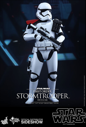Star Wars Hot Toys First Order Stormtrooper Officer 1:6 Scale Action Figure HOTMMS334
