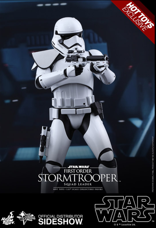 Star Wars Hot Toys First Order Squad Leader Stormtrooper 1:6 Scale Action Figure HOTMMS316