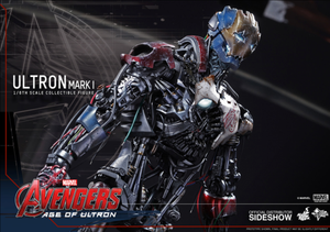 Marvel Hot Toys Age Of Ultron Ultron Mark I 1:6 Scale Action Figure HOTMMS292