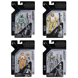 Star Wars Black Series Archive Wave 1 Set of 4 Action Figure