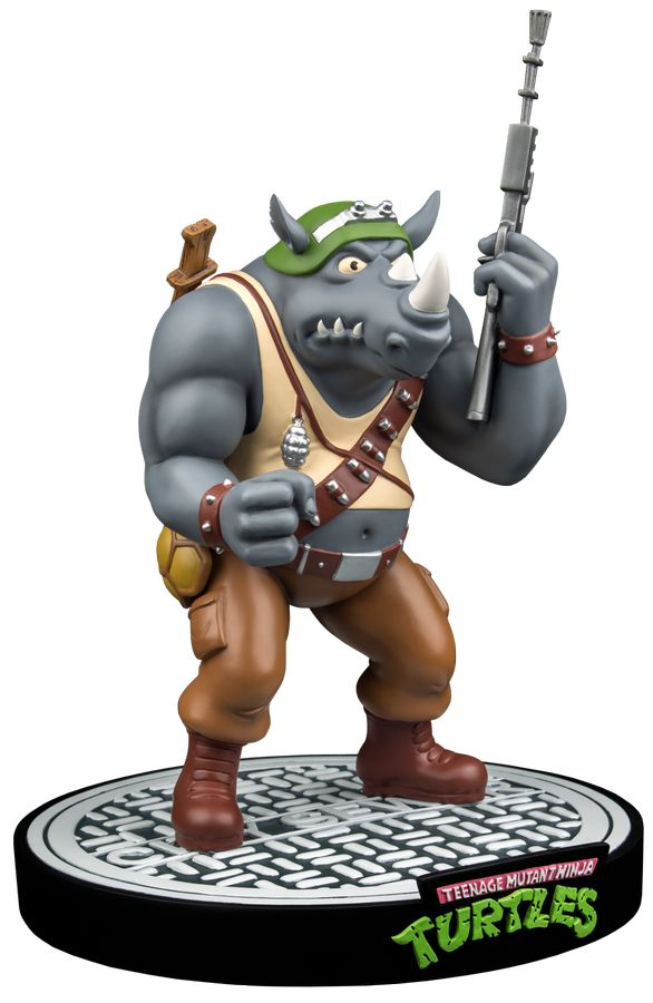 Teenage Mutant Ninja Turtles Ikon Collectibles Rocksteady 1:6 Scale Statue