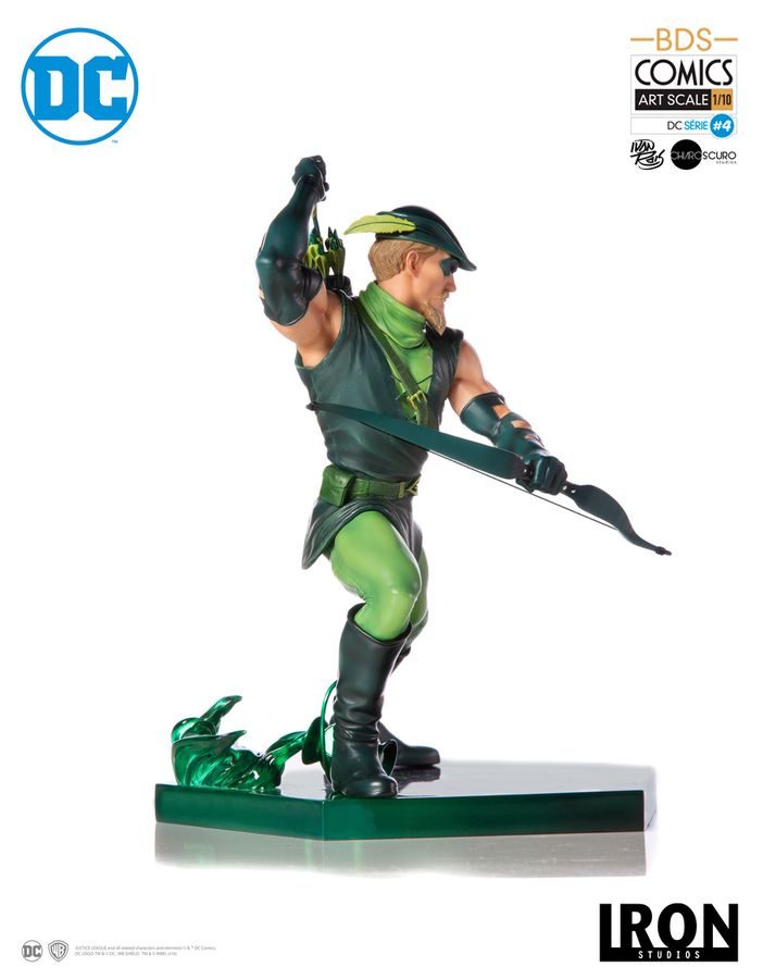 DC Iron Studios Green Arrow 1:10 Scale Statue Pre-Order