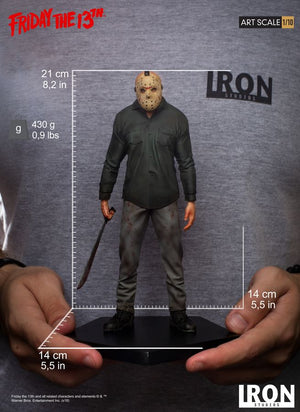 Friday The 13th Iron Studios Jason Vorhees 1:10 Scale Statue