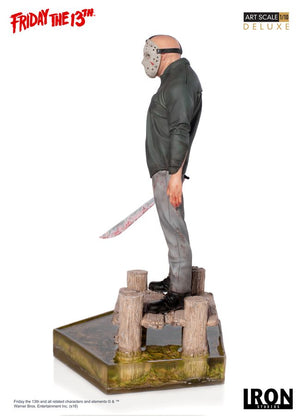 Friday The 13th Iron Studios Deluxe Jason Vorhees 1:10 Scale Statue