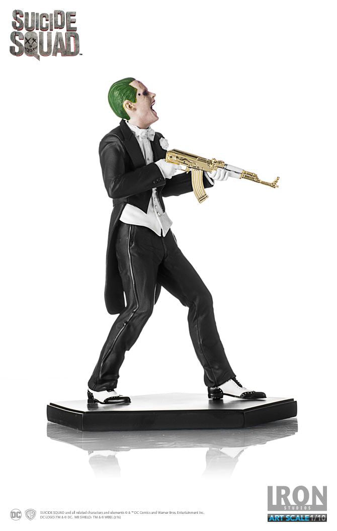 DC Iron Studios Suicide Squad The Joker 1:10 Scale Statue