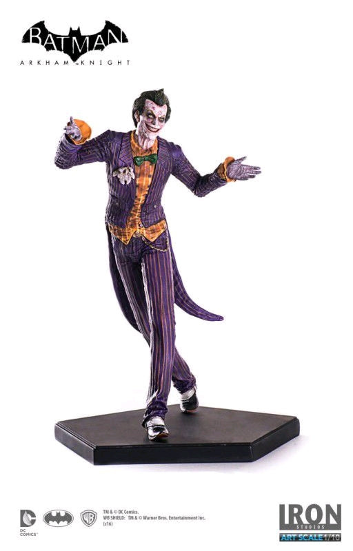 DC Iron Studios Arkham Knight The Joker 1:10 Scale Statue