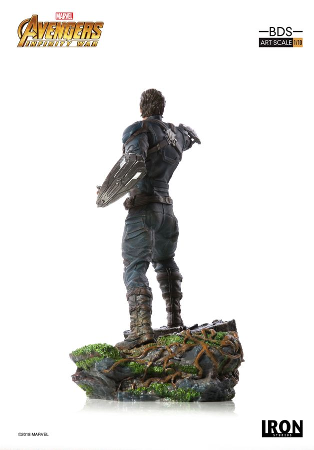 Marvel Iron Studios Infinity War Captain America 1:10 Scale Statue Pre-Order