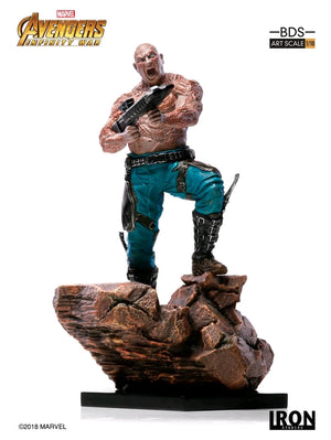Marvel Iron Studios Infinity War Drax 1:10 Scale Statue Pre-Order