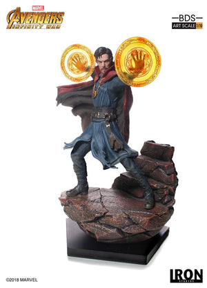 Marvel Iron Studios Infinity War Dr Strange 1:10 Scale Statue Pre-Order