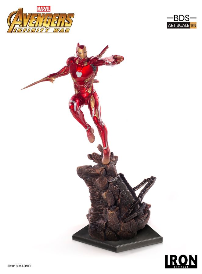 Marvel Iron Studios Infinity War Iron Man Mark 50 1:10 Scale Statue Pre-Order