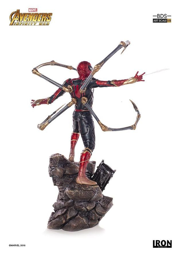 Marvel Iron Studios Infinity War Iron Spider 1:10 Scale Statue Pre-Order