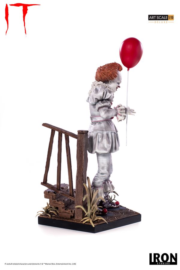 IT Iron Studios Pennywise Deluxe 2017 1:10 Scale Statue