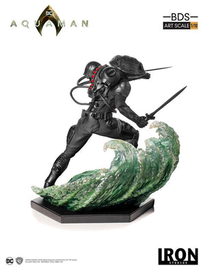 DC Iron Studios Black Manta 1:10 Scale Statue Pre-Order - Action Figure Warehouse Australia | Comic Collectables