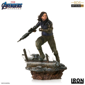Marvel Iron Studios Avengers Endgame Winter Soldier 1:10 Scale Statue